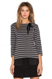 Marc by Marc Jacobs Jacquelyn Stripe Long Sleeve Top at Revolve