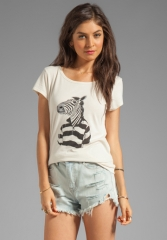 Marc by Marc Jacobs Zebra Tee at Revolve