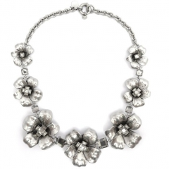 Marc by Marc Jacobs flower garland necklace at Amazon