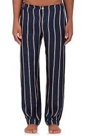 Marcel Silk Pajama Pants by Sleepy Jones at Barneys