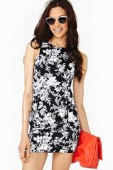Marcelle Floral Dress at Nasty Gal