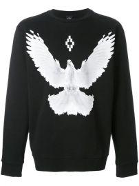 Marcelo Burlon County Of Milan Dove Crewneck Sweatshirt - Farfetch at Farfetch
