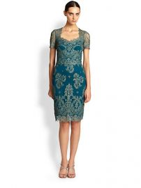 Marchesa Notte - Lace Dress at Saks Fifth Avenue