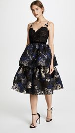 Marchesa Notte Two Tiered Cocktail Dress at Shopbop