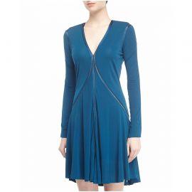 Marchesa Voyage Vneck Dress at Last Call
