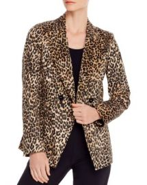 Marella Borgia Double-Breasted Leopard Blazer Women - Bloomingdale s at Bloomingdales