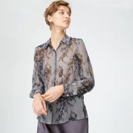 Margee Silk Shirt at Club Monaco