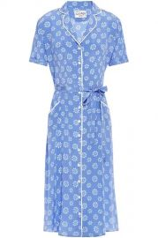 Maria Floral Print Shirtdress by HVN at Net A Porter