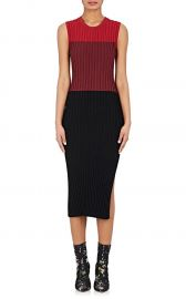Mariana Rib-Knit Fitted Dress at Barneys