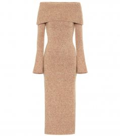 Mariel knit midi dress at Mytheresa