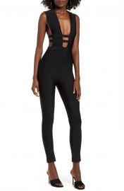 Marilyn Cutout Jumpsuit by Tiger Mist at Nordstrom