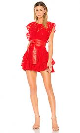 Marissa Webb Melodie Dress in Crimson from Revolve com at Revolve