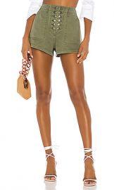 Marissa Webb Stellan Shorts in Military Green from Revolve com at Revolve