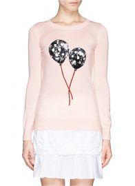 Markus Lupfer Emma Polka Dot Balloon Sweater at Lane Crawford