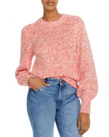 Marled Balloon-Sleeve Sweater at Bloomingdales