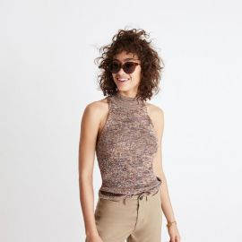 Marled Mockneck Sweater by Madewell at Madewell
