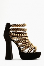 Marleys chain shoes at Nasty Gal