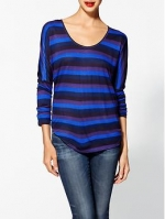 Marleys purple striped tee at Piperlime at Piperlime