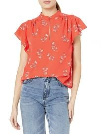 Marlina Cap Sleeve Floral Top by Joie at Amazon