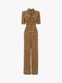 Marmont Leopard Print Jumpsuit by L.K. Bennett at John Lewis