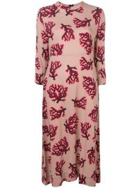 Marni Branch Print Dress - Farfetch at Farfetch