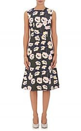 Marni Floral Cotton A-Line Dress at Barneys