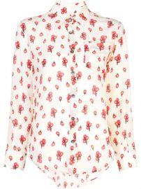 Marni Floral Print Shirt - Farfetch at Farfetch
