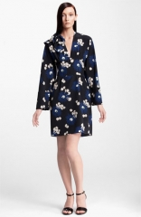 Marni Floral Print Silk Dress at Nordstrom