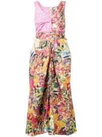 Marni Long Patch Dress - Farfetch at Farfetch