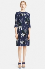 Marni Print Silk Dress at Nordstrom