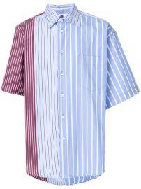 Marni Short Sleeve Striped Shirt at Farfetch