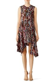 Marni pink Clematis Printed Dress at Rent The Runway