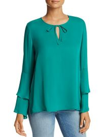 Marnie Bell Sleeve Silk Blouse by Kobi Halperin at Bloomingdales