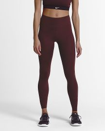 Maroon One Luxe Tights at Nike