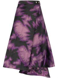 Marques Almeida tie-dye Wrap Skirt  - Farfetch at Farfetch