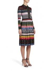 Mary Katrantzou - Cecile Long-Sleeve Mixed-Print Dress at Saks Fifth Avenue