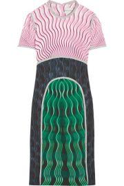 Mary Katrantzou   Vitriol printed crepe dress at Net A Porter