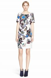 Mary Katrantzou  Cameron  Print Silk Crepe Dress at Nordstrom