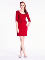 Mary peplum dress at Kate Spade