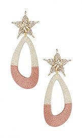 Maryjane Claverol Desideria Earrings in Silver  amp  Pink from Revolve com at Revolve