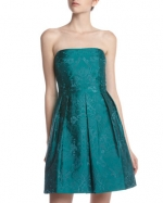 Mary's teal blue dress at Last Call