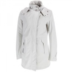 Mary's white jacket at Geox