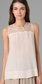 Marys white top at Shopbop at Shopbop