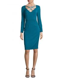 Masca Jade Sheath Dress black halo at Saks Fifth Avenue