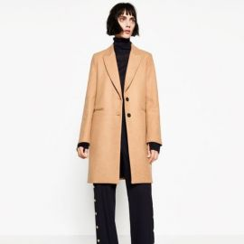 Masculine Coat at Zara