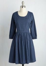 Mata Traders Team-Building Breakfast A-Line Dress at ModCloth