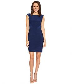 Matte Jersey Banded Dress by Adrianna Papell at Zappos