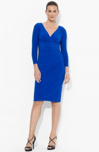 Matte Jersey dress by Ralph Lauren at Nordstrom