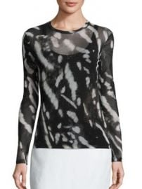 Max Mara - Helga Printed Top at Saks Fifth Avenue