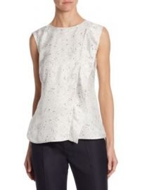 Max Mara - Anversa Constellation-Print Silk Tank Top at Saks Fifth Avenue